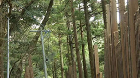 朝熊山金剛證寺の巨大卒塔婆林とちょっとそこまでいってきたぶろぐ中の人(三重県伊勢市)