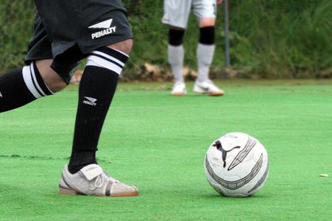 サッカーではなくフットサルボール