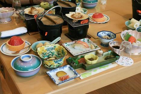 十和田湖レークビューホテルの夕食