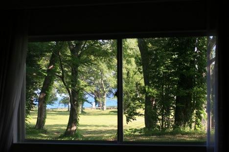 十和田湖レークビューホテル客室からの眺め