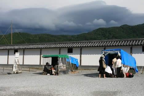 恐山: イタコの小屋
