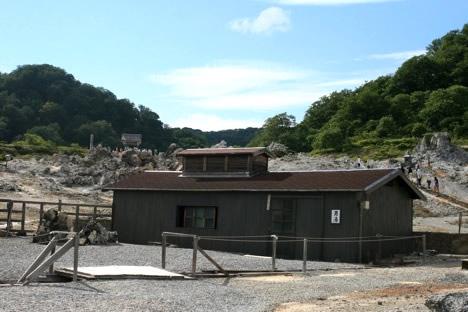 恐山の温泉。これは冷抜の湯