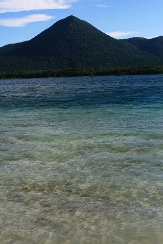 宇曽利湖: すごくきれい。がしかし、さすがに入ってみたりはしなかった