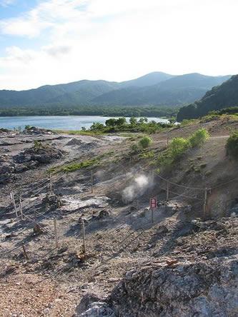 危険な地獄:恐山