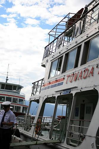 十和田湖遊覧船近影