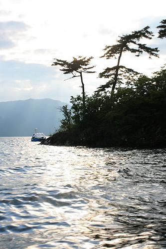 十和田湖の島