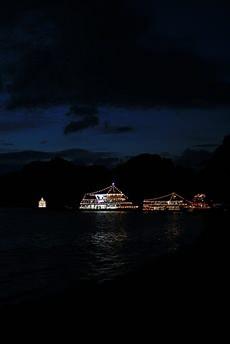 十和田湖湖水まつり: 遊覧船と湖
