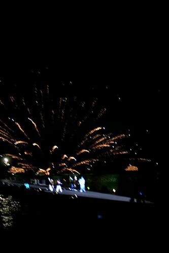 十和田湖湖水まつり: 湖上花火