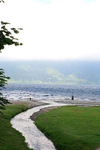 神田川は十和田湖へ流れているのです