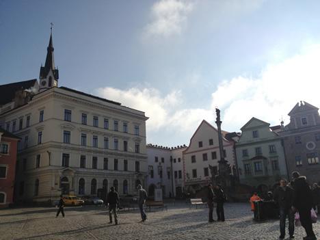 チェスキークルムロフ広場