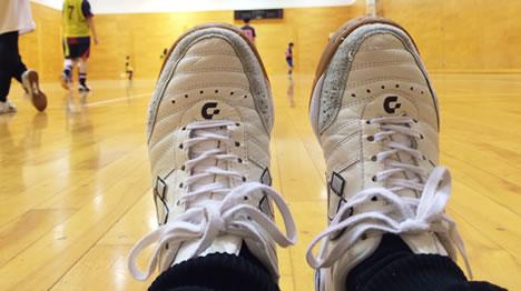 チェコでおすすめの靴(これはフットサルシューズ)