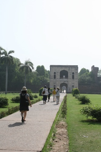 フマユーン廟入口