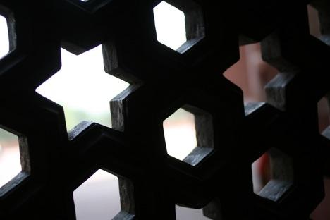 幾何学模様・星のあみあみアップ