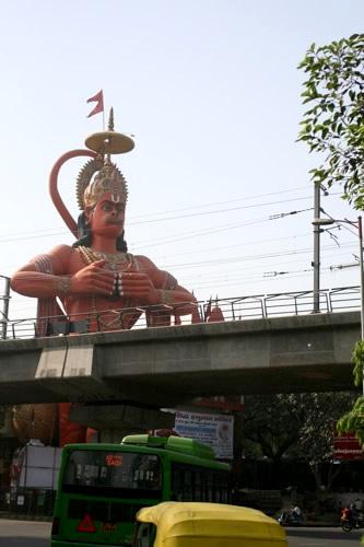 猿の神さまハヌマーン