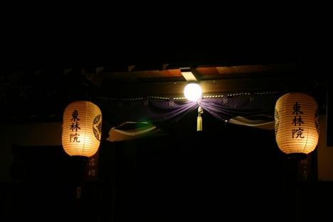 妙心寺東林院の提灯