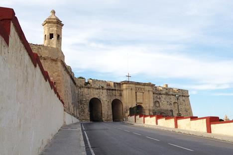 城塞都市セングレアの入り口