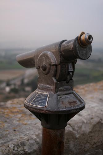 イムディーナの古い望遠鏡