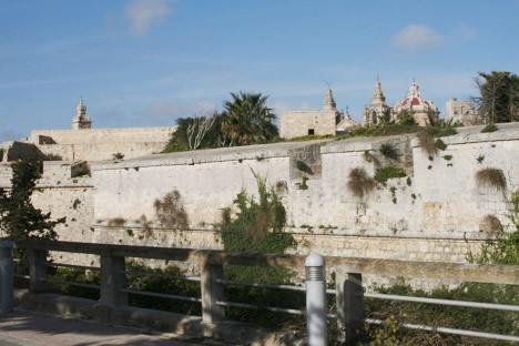 イムディーナの城壁