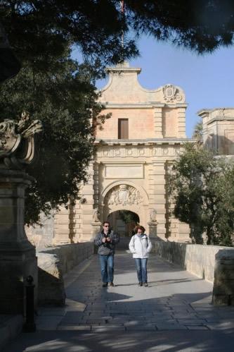 イムディーナの町の入り口