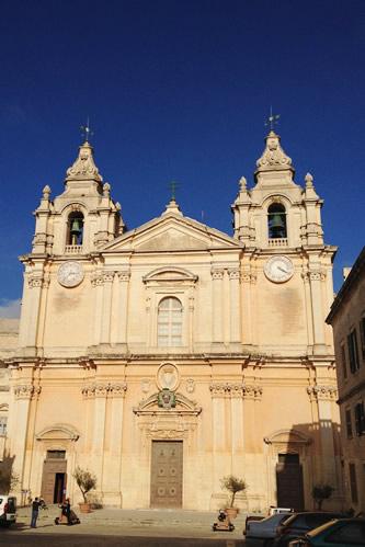イムディーナの聖パウロ聖堂外観