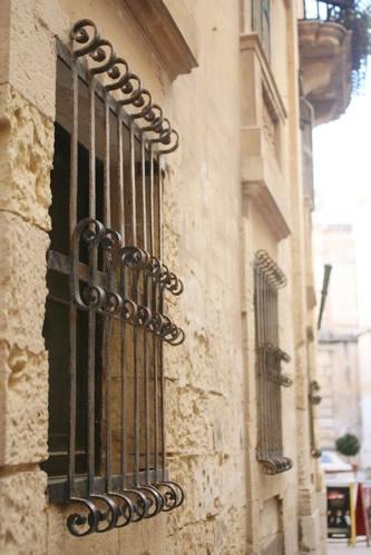 イムディーナにある鉄格子窓その2