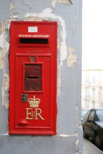 マルタ・セングレアの郵便ポスト