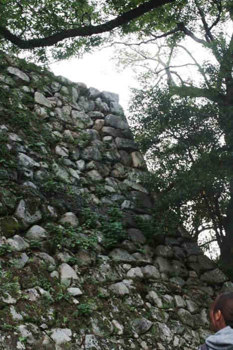 松坂城の石垣