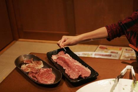 農場バーベキューレストランMow&Buu和牛上焼きすき