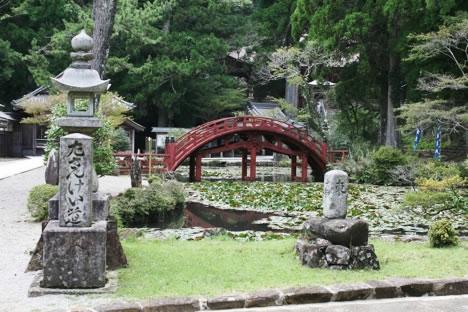 朝熊山金剛證寺の庭園