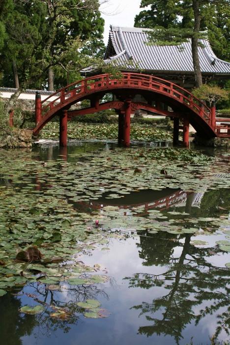 朝熊山金剛證寺の橋
