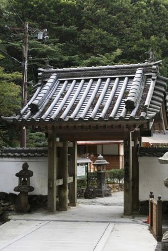 朝熊山金剛證寺・奥の院入り口