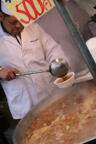 あんきも鍋のおおきな鍋