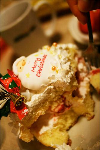 即席クリスマスケーキ